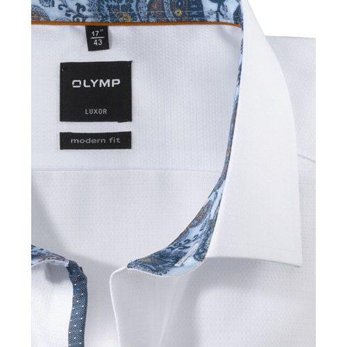 OLYMP Luxor modern fit karcsúsított fehér hosszú ujjú ing