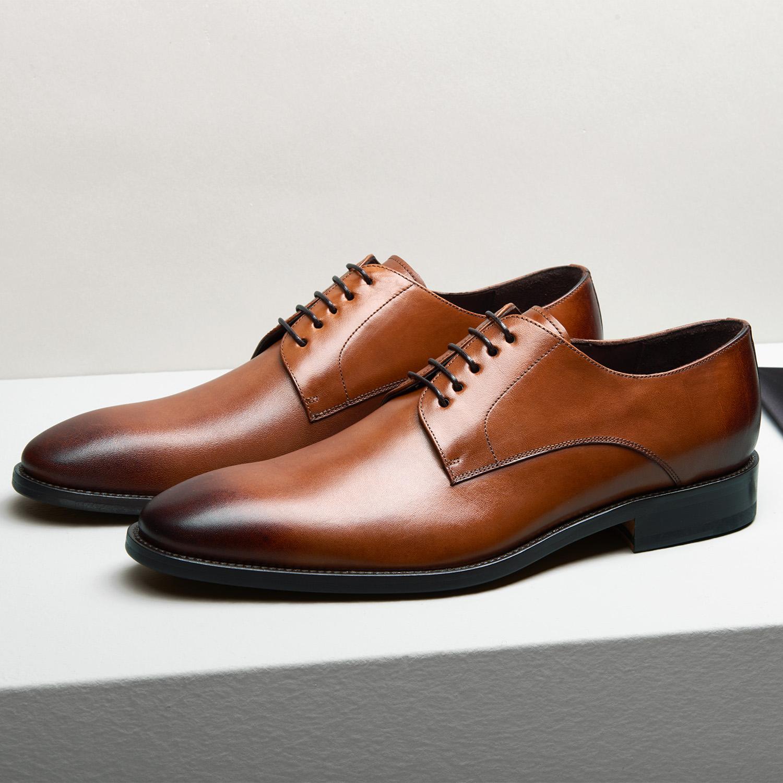 b1d4c68993 WILVORST barna bőr cipő | HEILEMANN Öltönyház | Budapest