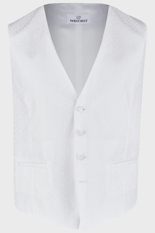 WILVORST fehér esküvői mellény 407207-90