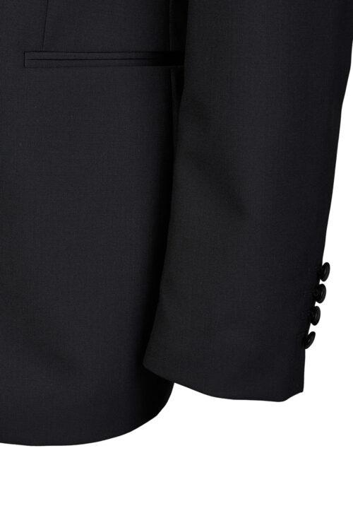 WILVORST fekete szmoking zakó részletek 401214-1 Modell 17501-1