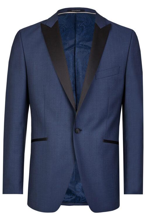 WILVORST slim fit kék szmoking zakó Art. 471201-33
