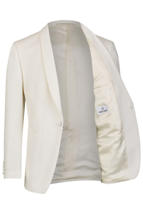 WILVORST white dinner jacket bélés Art. 401824-1