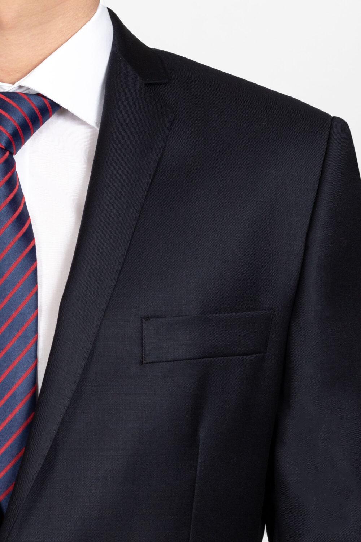Cerruti slim fit navy blue öltöny részletek Art. 100421
