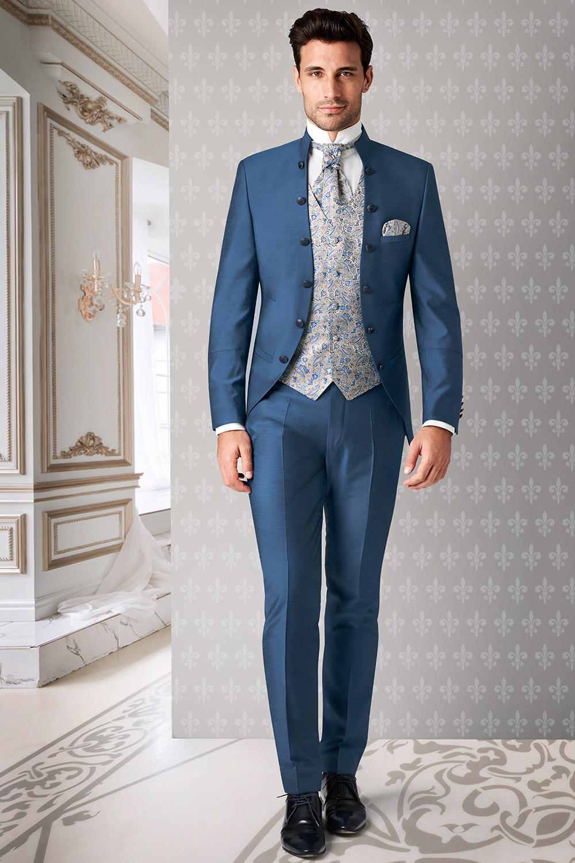 bc2bc66c14 TZIACCO winsor-kék esküvői öltöny | HEILEMANN Öltönyház | Budapest