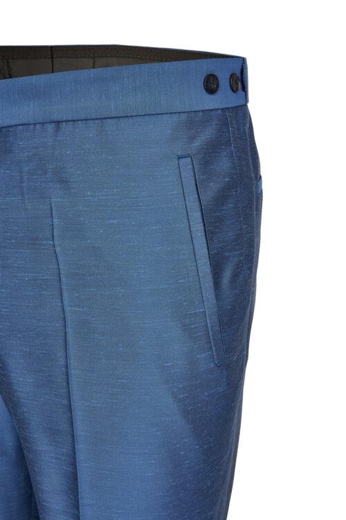 TZIACCO winsor-kék esküvői öltöny nadrág részletek Art. 591203-34