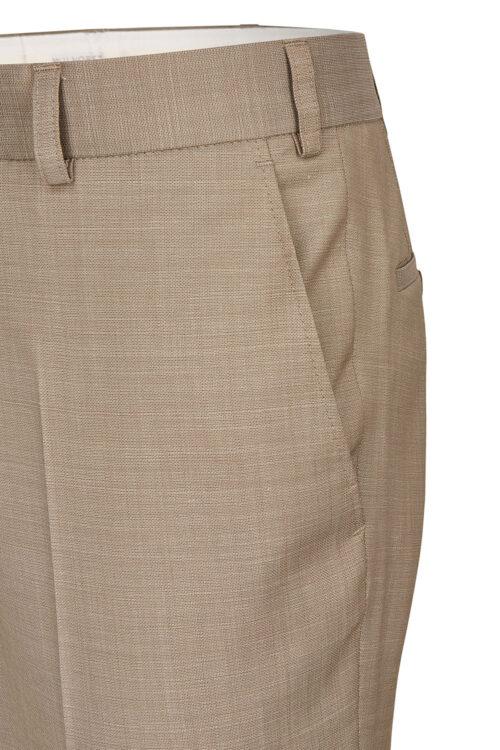 WILVORST homokszínű esküvői öltöny nadrág részletek Art. 491107-84