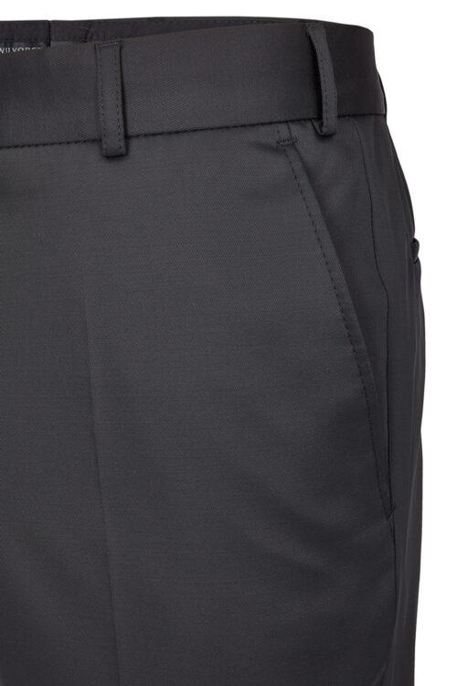WILVORST fekete nadrág részletek 411100-10 Modell 224