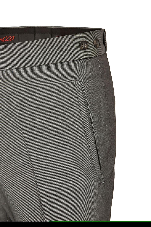 TZIACCO szürke esküvői öltöny nadrág részletek 561212-25 512