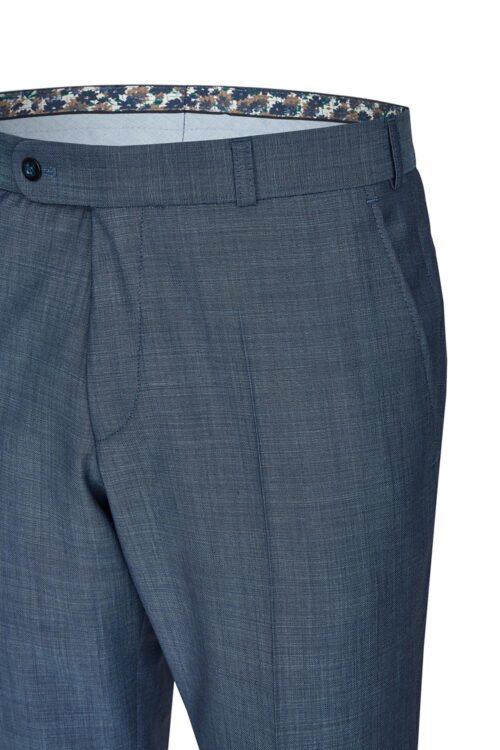 WILVORST borókakék esküvői férfi öltöny nadrág részletek 401106-34 724
