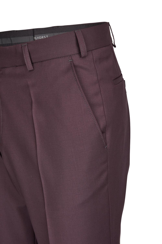 WILVORST bordó szmoking nadrág részletek 471201-52 Modell 724