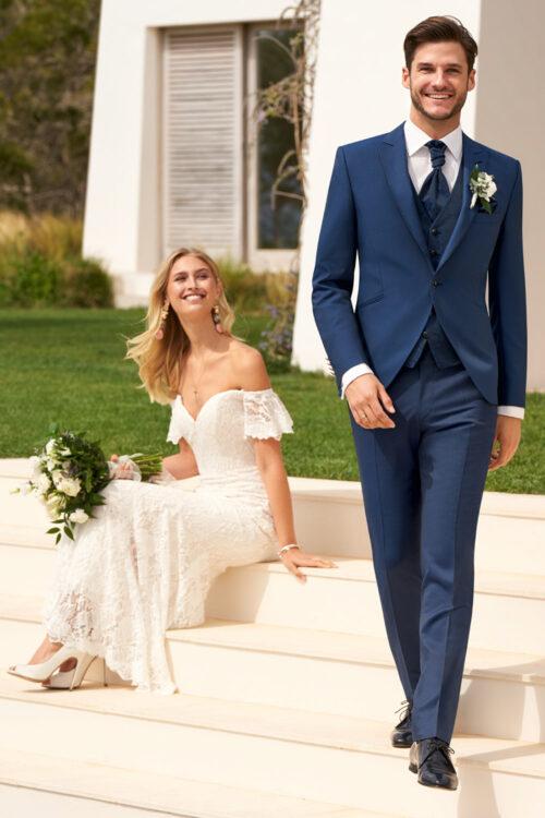 WILVORST kék esküvői öltöny Art. 491208/33