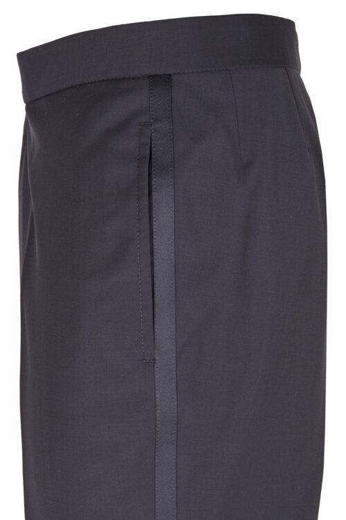 WILVORST sötétkék szmoking nadrág részletek 401600-30 Modell 622