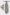 TZIACCO szürke mintás francia nyakkendő és díszzsebkendő 501113-27 0535