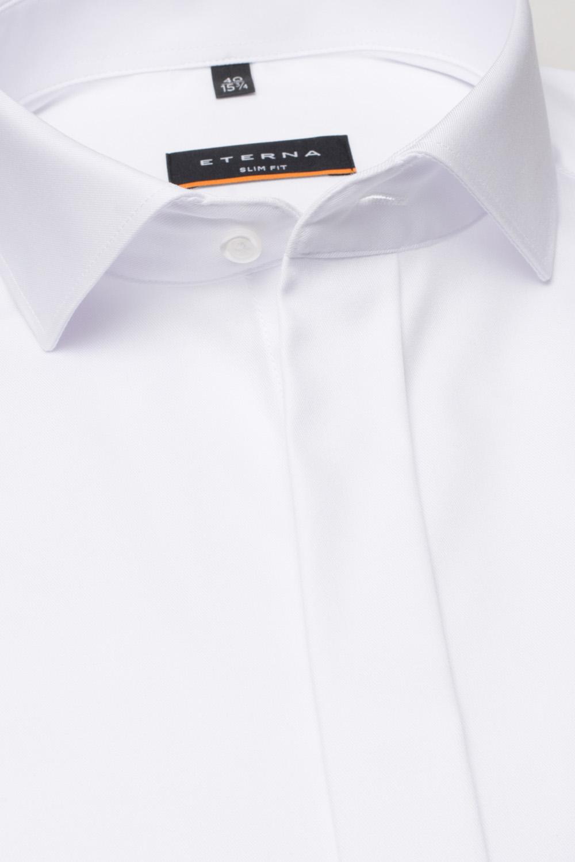 ETERNA slim fit fehér ing részletek 8817-00 F392