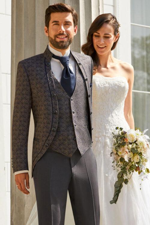 TZIACCO brokát mintás esküvői öltöny 511111-61