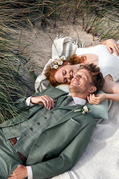 WILVORST alpesi zöld öltöny esküvőre 411110-45