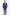 Loro Piana slim fit kockás sötétkék férfi öltöny 20430