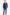 Loro Piana slim fit sötétkék férfi öltöny 20440