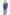 Minőségi Loro Piana slim fit acélkék öltöny 20448
