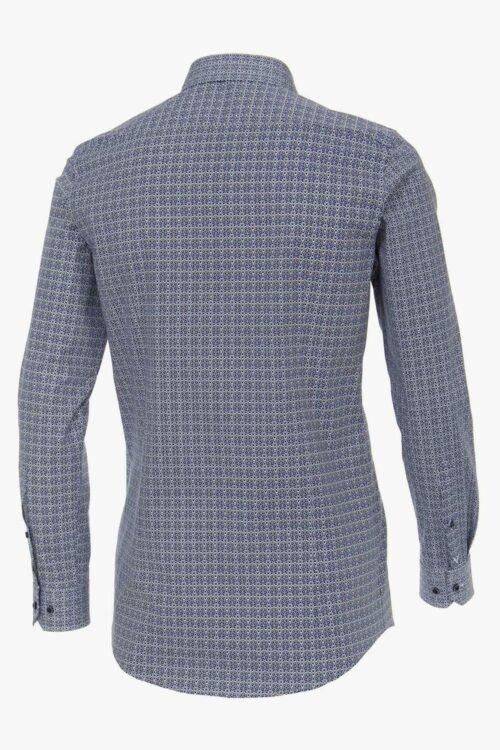 Venti Body Fit középkék ing hátoldal 103522700-100