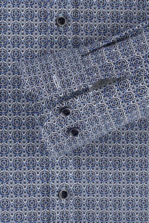 Venti Body Fit középkék ing ujja 103522700-100