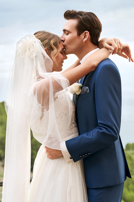 Vőlegény WILVORST tengergék esküvői öltönyben 791202-34