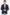 Cerruti slim fit kockás sötétkék férfi sportzakó 19803