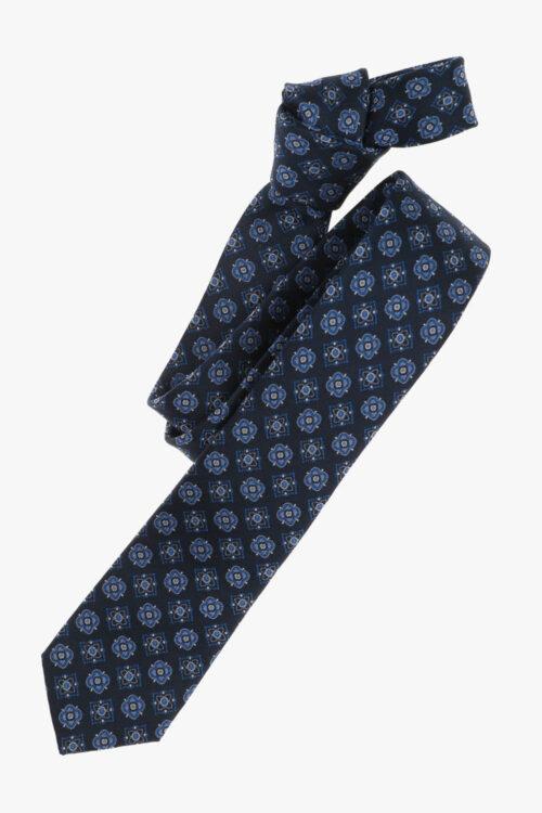 Sötétkék mintás nyakkendő 21660-23