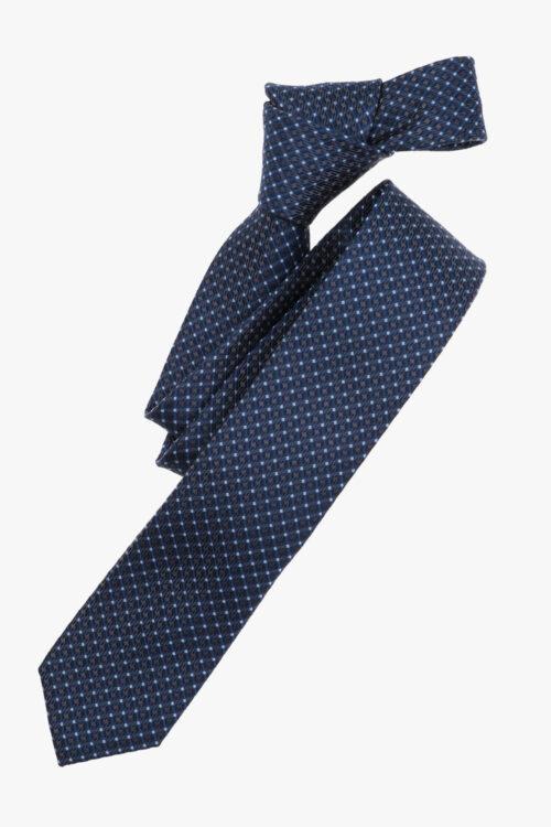 Sötétkék mintás nyakkendő 21660-24