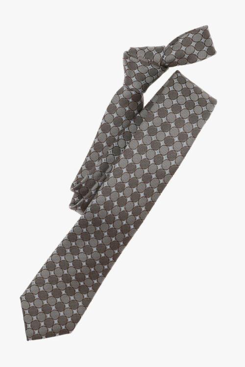 Szürke mintás nyakkendő 21660-27